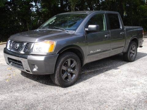 2015 Nissan Titan for sale at Lowcountry Auto Sales in Charleston SC