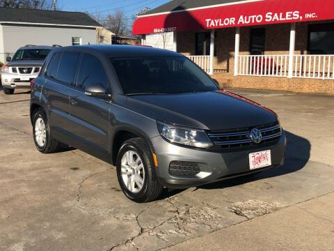 2013 Volkswagen Tiguan for sale at Taylor Auto Sales Inc in Lyman SC