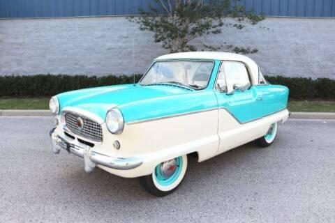 1960 Nash Metropolitan for sale at Classic Car Deals in Cadillac MI