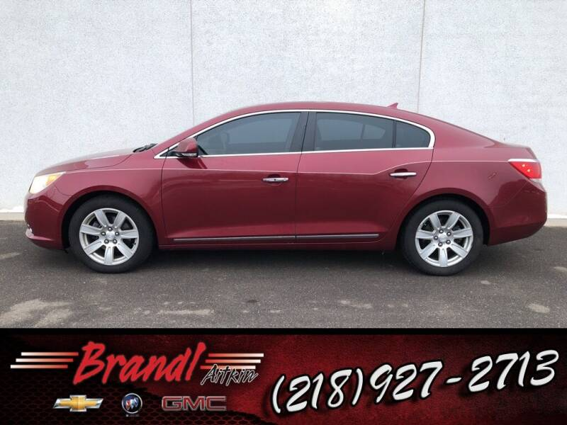 2010 Buick LaCrosse for sale at Brandl GM in Aitkin MN