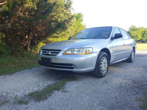 2001 Honda Accord for sale at The Car Shed in Burleson TX