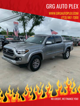 2017 Toyota Tacoma for sale at GRG Auto Plex in Houston TX