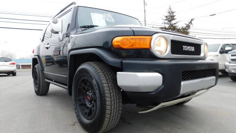 2007 Toyota FJ Cruiser for sale at Action Automotive Service LLC in Hudson NY