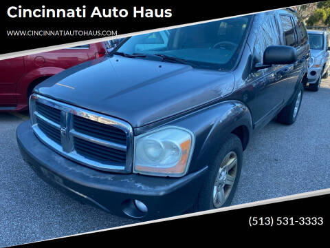 2004 Dodge Durango for sale at Cincinnati Auto Haus in Cincinnati OH