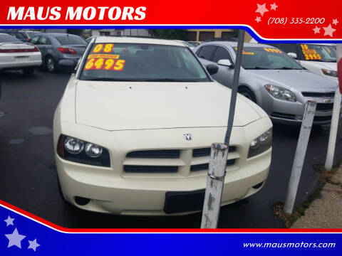 2008 Dodge Charger for sale at MAUS MOTORS in Hazel Crest IL