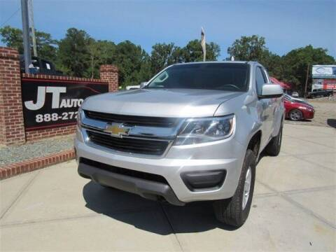 2020 Chevrolet Colorado for sale at J T Auto Group in Sanford NC