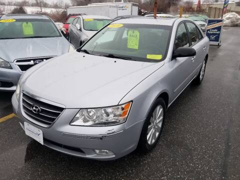2010 Hyundai Sonata for sale at Howe's Auto Sales in Lowell MA
