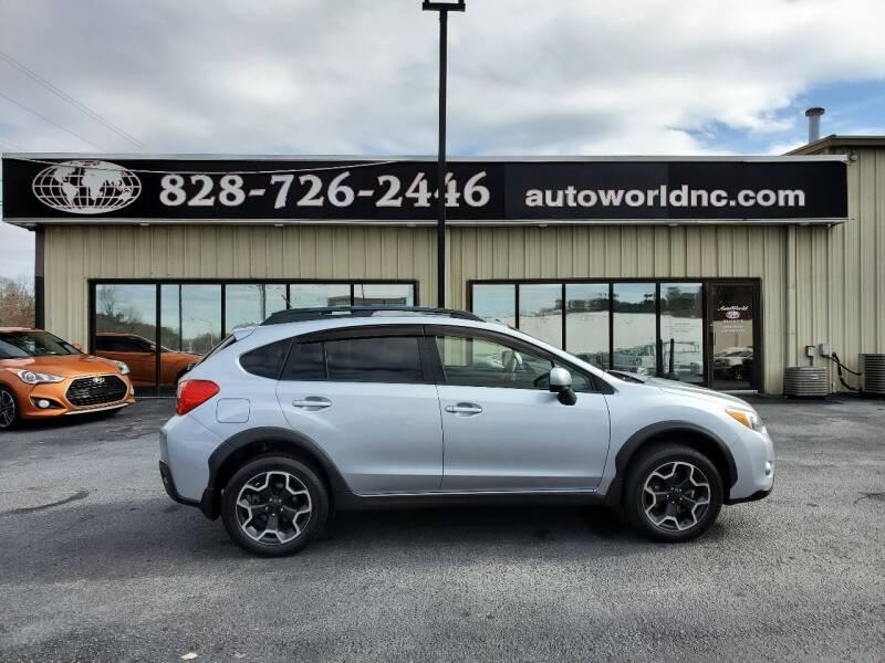 2013 Subaru XV Crosstrek for sale at AutoWorld of Lenoir in Lenoir NC