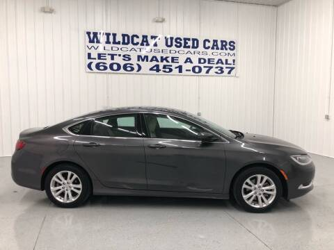 2016 Chrysler 200 for sale at Wildcat Used Cars in Somerset KY