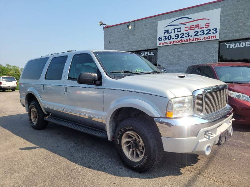 2000 Ford Excursion for sale at Auto Deals in Roselle IL