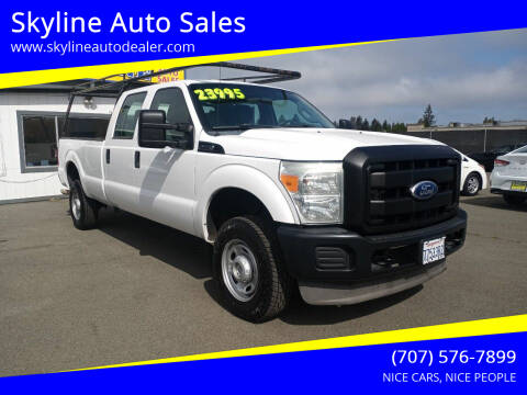 2011 Ford F-350 Super Duty for sale at Skyline Auto Sales in Santa Rosa CA