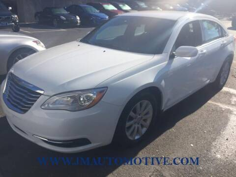 2014 Chrysler 200 for sale at J & M Automotive in Naugatuck CT