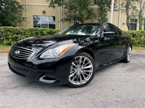 2008 Infiniti G37 for sale at CARPORT SALES AND  LEASING in Oviedo FL