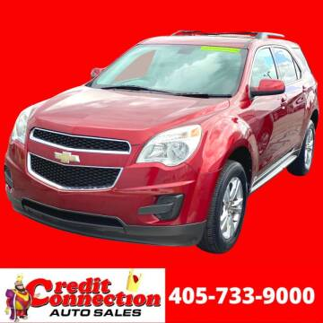 2011 Chevrolet Equinox for sale at Credit Connection Auto Sales in Midwest City OK