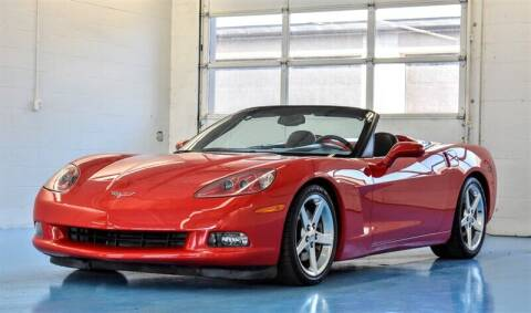 2005 Chevrolet Corvette for sale at Mershon's World Of Cars Inc in Springfield OH