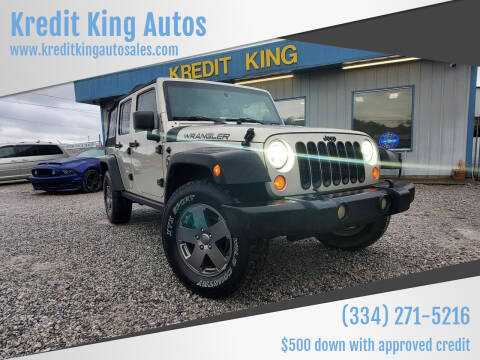 2007 Jeep Wrangler Unlimited for sale at Kredit King Autos in Montgomery AL
