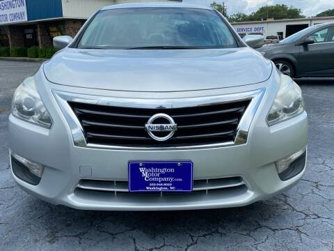 2015 Nissan Altima for sale at Greenville Motor Company in Greenville NC