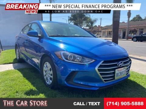 2017 Hyundai Elantra for sale at The Car Store in Santa Ana CA