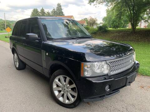 2007 Land Rover Range Rover for sale at Trocci's Auto Sales in West Pittsburg PA