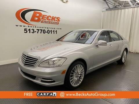 2010 Mercedes-Benz S-Class for sale at Becks Auto Group in Mason OH