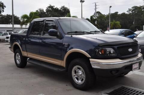 2002 Ford F-150 for sale at STEPANEK'S AUTO SALES & SERVICE INC. in Vero Beach FL