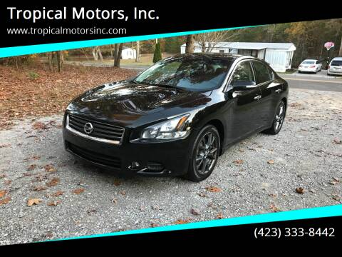 2012 Nissan Maxima for sale at Tropical Motors, Inc. in Riceville TN