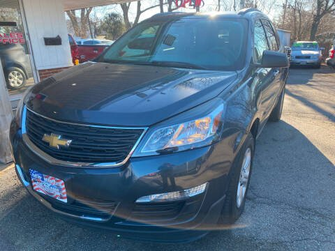2013 Chevrolet Traverse for sale at New Wheels in Glendale Heights IL