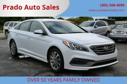 2016 Hyundai Sonata for sale at Prado Auto Sales in Miami FL
