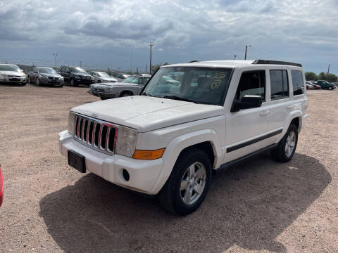 2007 Jeep Commander for sale at PYRAMID MOTORS - Fountain Lot in Fountain CO