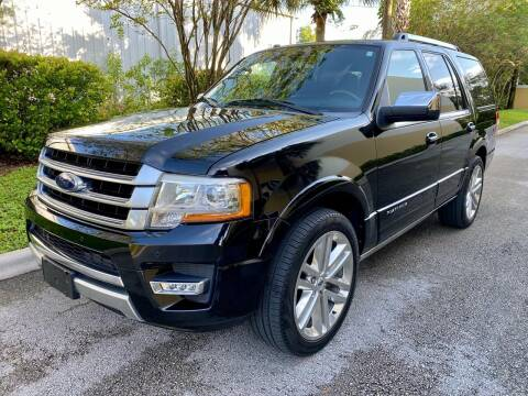 2016 Ford Expedition for sale at DENMARK AUTO BROKERS in Riviera Beach FL