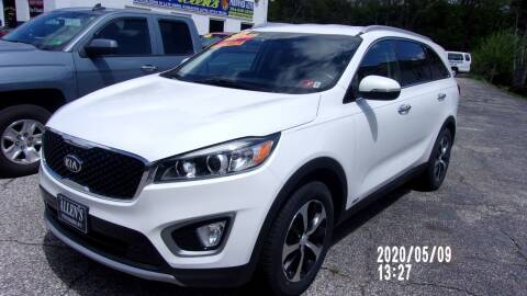 2016 Kia Sorento for sale at Allen's Pre-Owned Autos in Pennsboro WV
