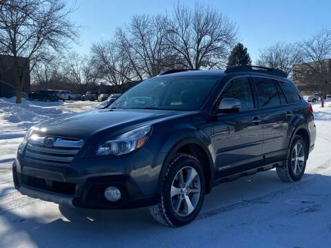 2014 Subaru Outback for sale at North Imports LLC in Burnsville MN