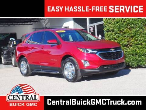 2019 Chevrolet Equinox for sale at Central Buick GMC in Winter Haven FL