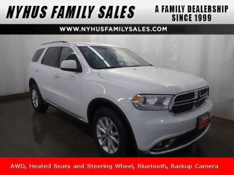 2019 Dodge Durango for sale at Nyhus Family Sales in Perham MN