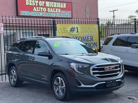 2019 GMC Terrain for sale at Best of Michigan Auto Sales in Detroit MI
