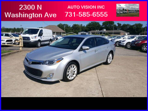 2014 Toyota Avalon for sale at Auto Vision Inc. in Brownsville TN