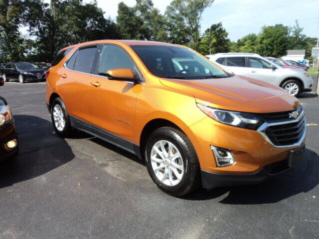 2018 Chevrolet Equinox for sale at BATTENKILL MOTORS in Greenwich NY