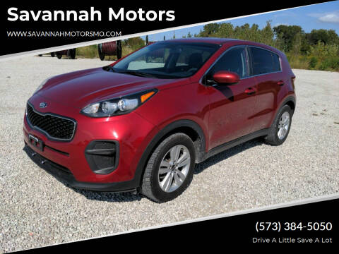 2017 Kia Sportage for sale at Savannah Motors in Elsberry MO