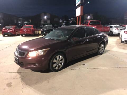 2008 Honda Accord for sale at Car Gallery in Oklahoma City OK