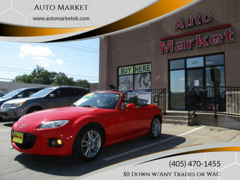 2014 Mazda MX-5 Miata for sale at Auto Market in Oklahoma City OK