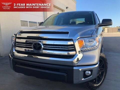 2017 Toyota Tundra for sale at European Motors Inc in Plano TX