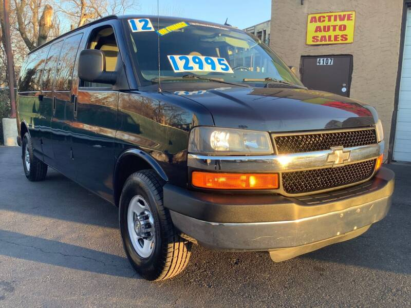 2012 Chevrolet Express Passenger for sale at Active Auto Sales Inc in Philadelphia PA