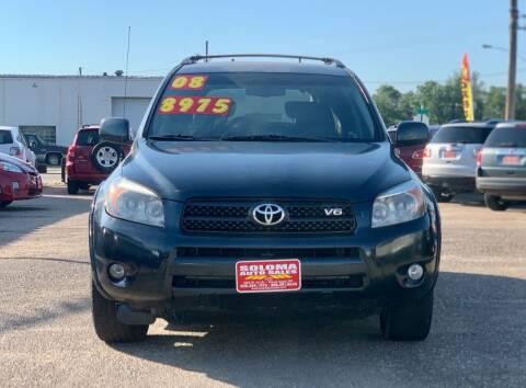 2008 Toyota RAV4 for sale at SOLOMA AUTO SALES in Grand Island NE