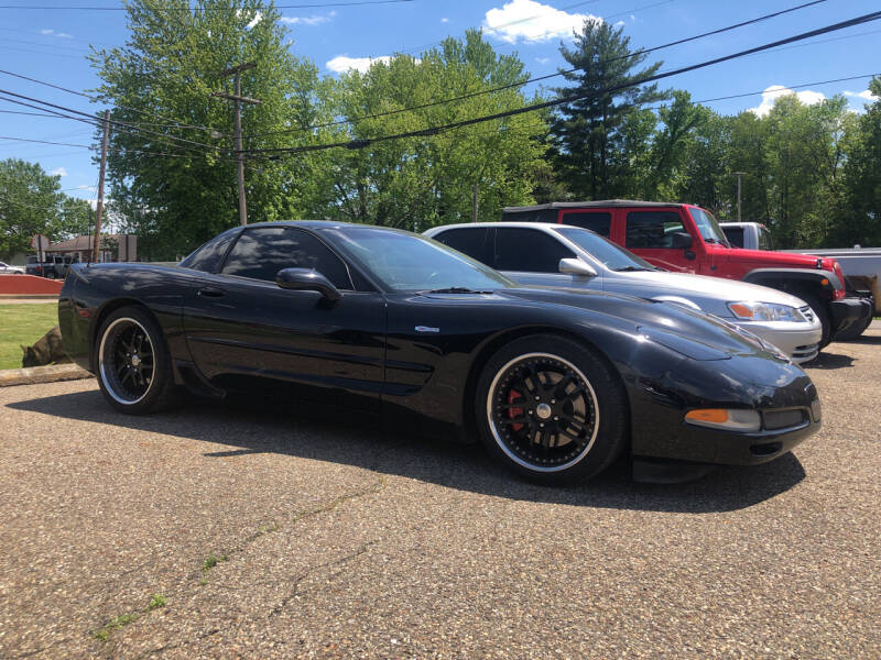 2002 Chevrolet Corvette for sale at Jim's Hometown Auto Sales LLC in Byesville OH