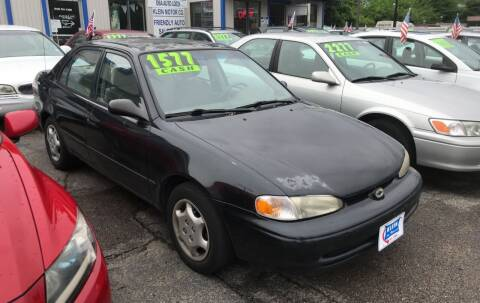 2001 Chevrolet Prizm for sale at Klein on Vine in Cincinnati OH