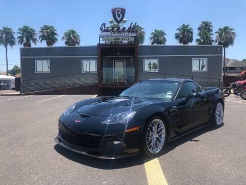 2009 Chevrolet Corvette for sale at Barrett Auto Gallery in San Juan TX