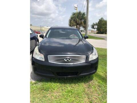 2008 Infiniti G35 for sale at My Value Car Sales in Venice FL