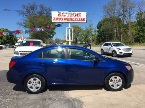 2013 Chevrolet Sonic for sale at Action Auto Wholesale in Painesville OH