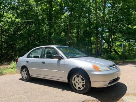 2001 Honda Civic for sale at Garber Motors in Midlothian VA