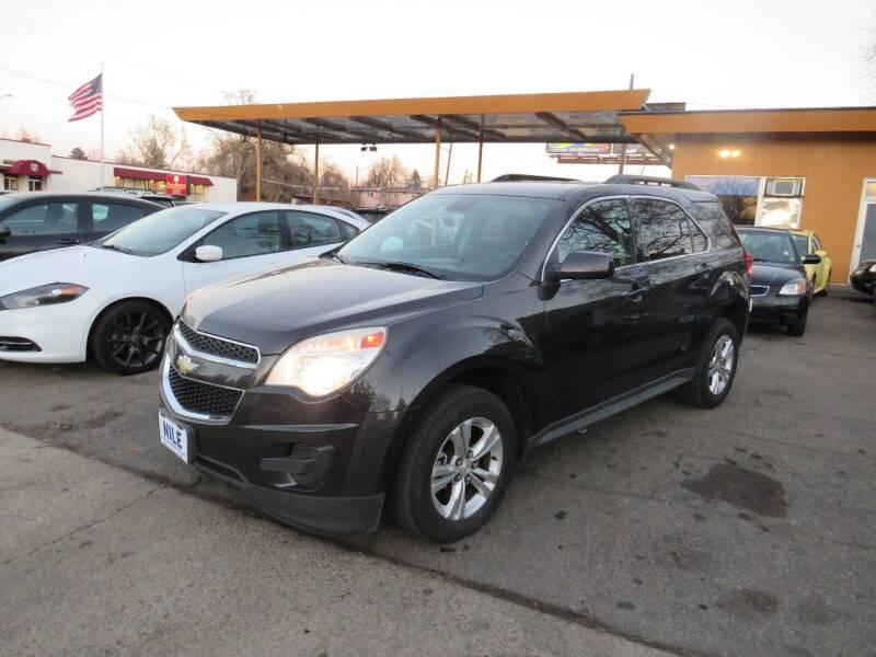2013 Chevrolet Equinox for sale at Nile Auto Sales in Denver CO